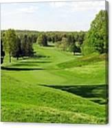 Golfer's Dream Canvas Print