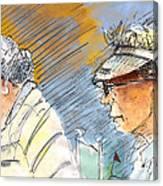 Golfers In Soufflenheim 02 Canvas Print