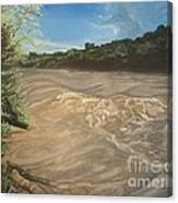 Gomez Farm San Juan River Canvas Print