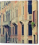 Gondola In Venice  Canvas Print