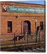 Gone With The Wind Museum Canvas Print
