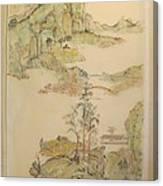 Gongbi Landscape # 4 Canvas Print