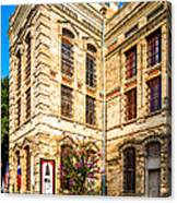 Gonzales County Old Jail Museum - Gonzales Texas Canvas Print