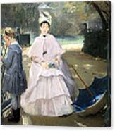 Gonzales' Nanny And Child Canvas Print