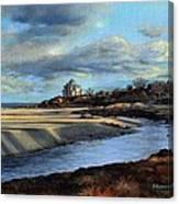 Good Harbor Beach Gloucester Canvas Print
