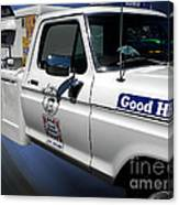 Good Humor Ice Cream Truck 02 Canvas Print