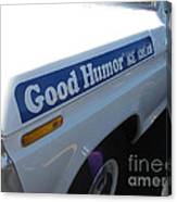 Good Humor Ice Cream Truck 03 Canvas Print