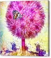 Good Luck Tree Canvas Print
