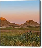 Good Morning Badlands II Canvas Print