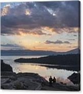 Good Morning Emerald Bay Canvas Print