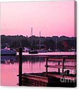 Good Mystic Morning Canvas Print