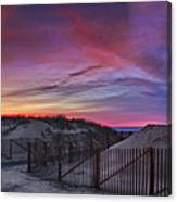 Good Night Cape Cod Canvas Print