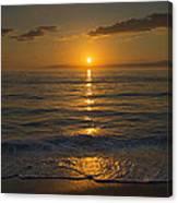 Good Night Gulf Coast Canvas Print