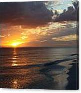 Good Night Sanibel Island Canvas Print