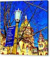 Good Vision By The Administration Building Canvas Print