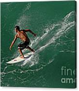 Good Waves Good Body Canvas Print