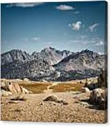 Goodale Pass Canvas Print
