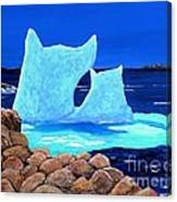 Goodbye Greenland Canvas Print