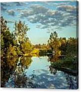 Goodbye Sunny Day Canvas Print