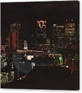 Goodnight Birmingham Canvas Print