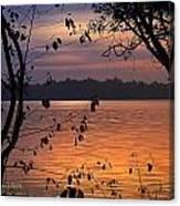 Goodnight Lake Canvas Print