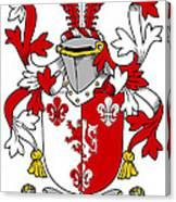 Goodwin Coat Of Arms Irish Canvas Print