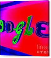 Google's Hallway Canvas Print