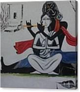 Gopi Bhaava Canvas Print