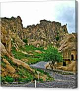 Goreme Open Air Musuem With Six Early Christian Churches In Capp Canvas Print