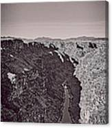 Gorge Canvas Print