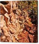Gorge Trail Wall Canvas Print