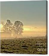 Gorgeous Morning On The Farm Canvas Print