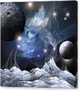 Gorgeous Spacescape From One Planet Canvas Print