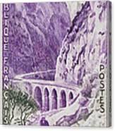 Gorges Kerrata Canvas Print