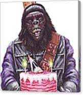 Gorilla Party Canvas Print