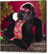 Gorilla With Shades-faa Canvas Print
