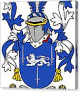 Gorman Coat Of Arms Irish Canvas Print