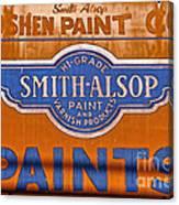 Goshen Paint Company Canvas Print