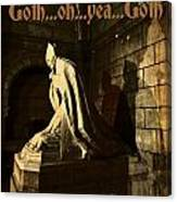Goth Poster Canvas Print