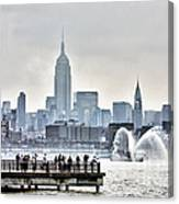 Gotham Harbor Canvas Print