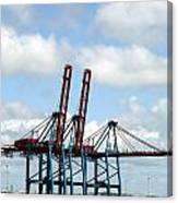 Gothenburg Harbour 08 Canvas Print
