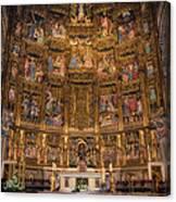 Gothic Altar Screen Canvas Print