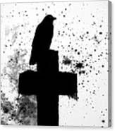 Gothic Black And White Canvas Print