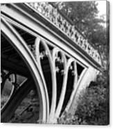 Gothic Bridge Design Canvas Print