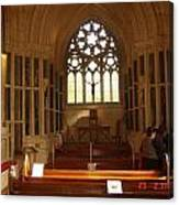 Gothic Church Kylemore Abbey Canvas Print