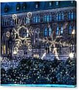 Gothic Snowflakes Canvas Print