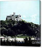 Gothic St Michael's Mount Cornwall Canvas Print
