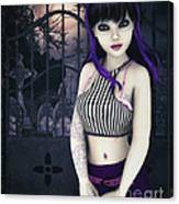 Gothic Temptation Canvas Print