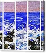 Gottah See Waves  Canvas Print