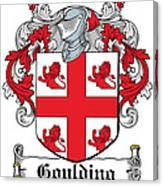 Goulding Coat Of Arms Irish Canvas Print